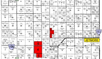 2600 ACRES HODGEMAN COUNTY LAND – (8) TRACTS