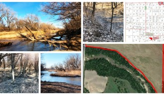 61 ACRES RICE COUNTY LAND – Arkansas River Frontage!