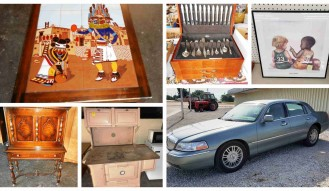 ANTIQUES, COLLECTIBLES AND HOUSEHOLD