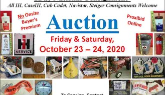 25th Annual National International Harvester Consignment Auction