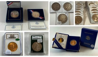 630+ LOTS COIN AUCTION