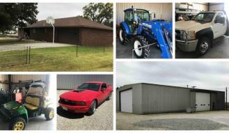 Real Estate, Farm & Shop Equipment