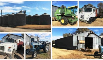 FARM EQUIPMENT AND REAL ESTATE