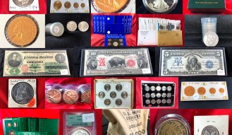 2-DAY COIN AUCTION – 1159 LOTS – LIFETIME COLLECTION