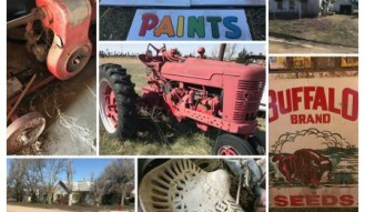 REAL ESTATE, ANTIQUE TRACTOR & COLLECTIBLE
