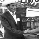 Larry wins Auctioneer Contest as a young man
