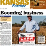 Jim on the cover of Kansas Farmer Magazine