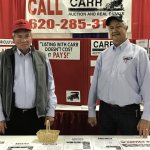 Larry Carr & Jim Froetschner at the Farm Expo April 2017