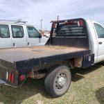 Lot #20 - Dodge Ram White Flatbed