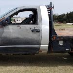 Lot #20 -- Silver Dodge Flatbed (dead row)