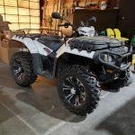 2011 Polaris 850cc 4-wheeler (Lot #73)