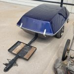 lot #121 - Motorcycle Trailer