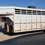 2005 Circle D 24' Cattle Trailer - Lot #142