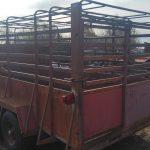 Homemade Calf Trailer (#57)